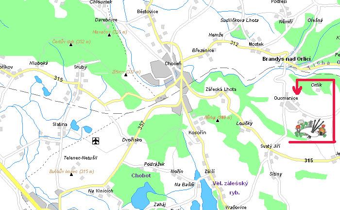 Ekocentrum PALETA na mapě